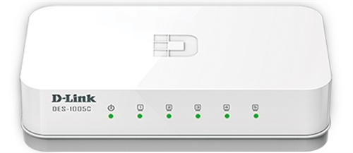 Switch D-Link DES 1005C 5-Port 10/100 Mbps