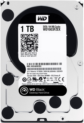 Ổ cứng HDD Western Digital Black 1TB 3.5