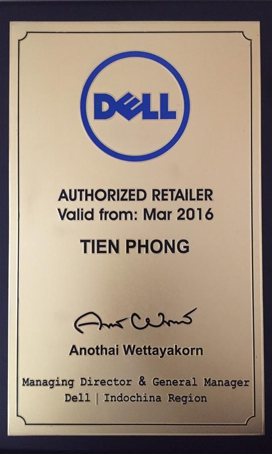 Nhà bán lẻ ủy quyền DELL từ 2016.