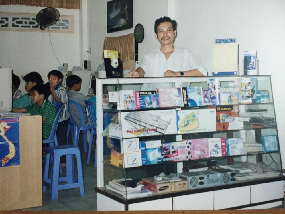 Cửa hàng máy vi tính phan thiết năm 2000