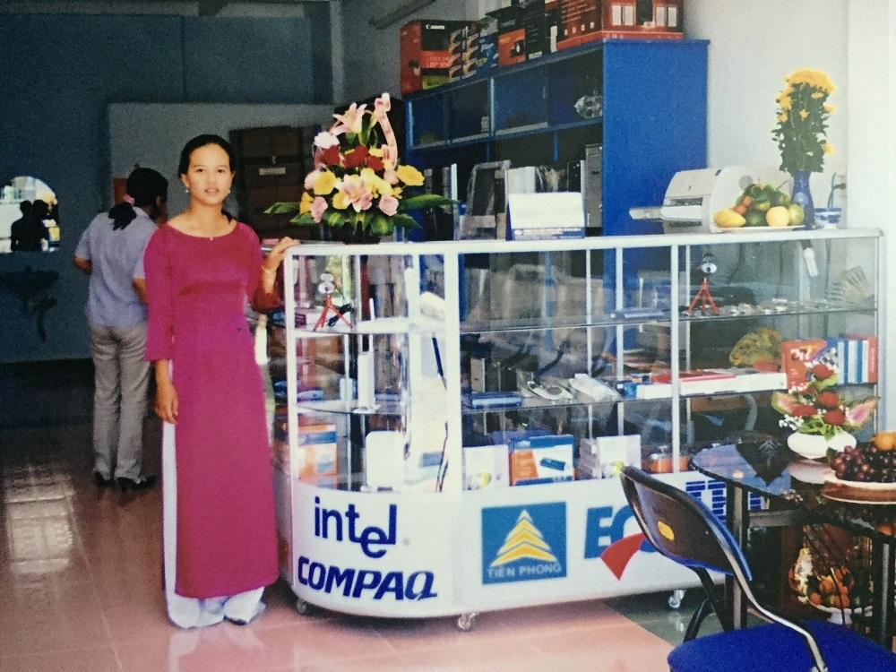 Khai trương Công ty Tin Học Tiên Phong tháng 01/2007